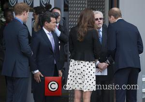 Prince William, Duke Of Cambridge, Catherine, Duchess Of Cambridge, Kate Middleton and Prince Harry
