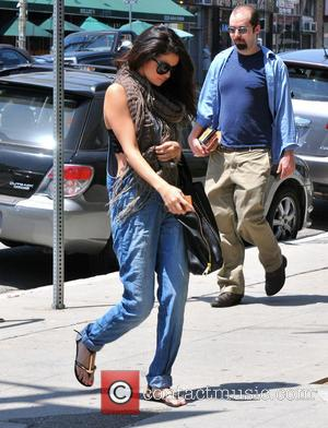 Selena Gomez - Selena Gomez arrives at at studio