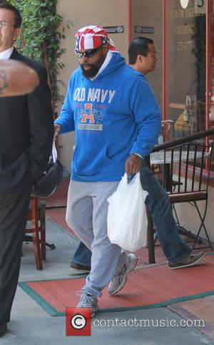 Mr. T - Mr. T leaves the doctors office in Beverly Hills - Beverly Hills,  CA, United States -...