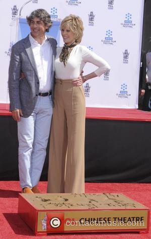 Jane Fonda and Alexander Payne