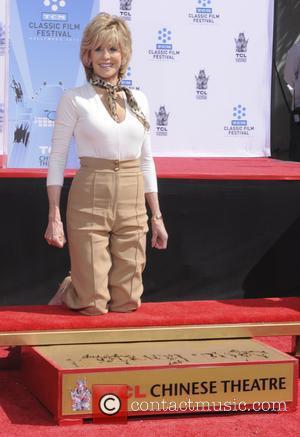 Jane Fonda - Handprint and footprint ceremony honouring actress Jane Fonda, presented as part of the '2013 TCM Classic Film...