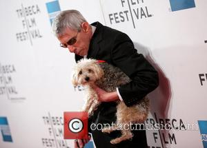 Richard Belzer and Dog