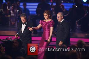 Jose Jose, Ana Barbara and Emilio Estefan