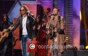 Mana and Robi Draco Sosa - Billboard Latin Music Awards 2013 at Bank United Center - Miami, Florida, United States...