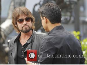 Billy Ray Cyrus - Billy Ray Cyrus at Extra, talking about his new memoir