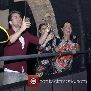 Lisa Riley - Idina Menzel live at G-A-Y Club - London, United Kingdom - Saturday 27th April 2013