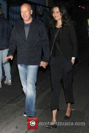 Bruce Willis - Celebrities leave the Echoplex in Hollywood