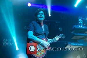 Charlie Burchill - Simple Minds perform at Hull City Hall - Hull, East Yorkshire, United Kingdom - Saturday 27th April...