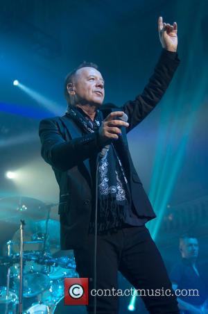 Jim Kerr - Simple Minds perform at Hull City Hall - Hull, East Yorkshire, United Kingdom - Saturday 27th April...