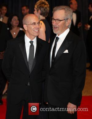 Jeffrey Katzenberg and Steven Spielberg - 2013 White House Correspondents' Association Dinner at the Washington Hilton - Arrivals - Washington...