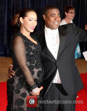 Tracy Morgan and Megan Wollover - 2013 White House Correspondents' Association Dinner at the Washington Hilton - Arrivals - Washington...