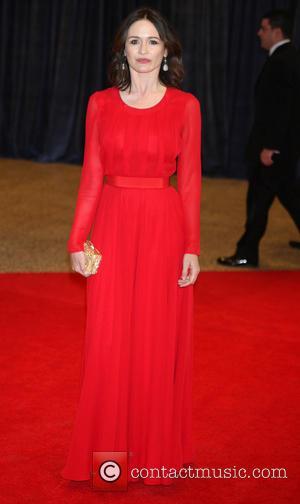 Emily Mortimer - 2013 White House Correspondents' Association Dinner at the Washington Hilton - Arrivals - Washington, D.C., United States...