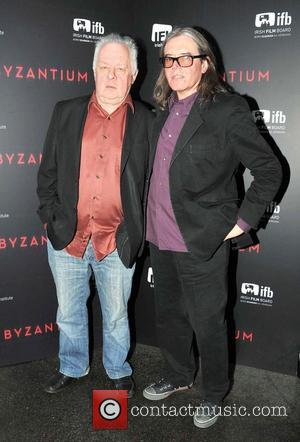 Jim Sheridan and Stephen Woolley - Premiere of 'Byzantium' held at the IFI at Temple Bar - Dublin, Ireland -...