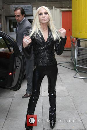 Donatella Versace - The Vogue Festival 2013 held at the Southbank Centre - Outside Arrivals - London, United Kingdom -...