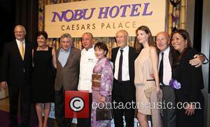 Robert Deniro, Gary Selesner, Nobu Matsuhisa, Meir Teper and Trevor Horwell