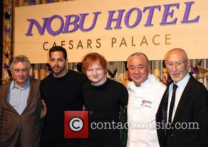 Robert Deniro, David Blaine, Ed Sheeran, Nobu Matsuhisa and Meir Teper