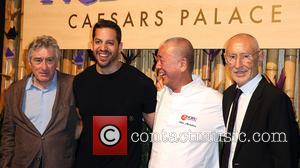 Robert Deniro, David Blaine, Nobu Matsuhisa and Meir Teper