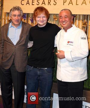Robert Deniro, Ed Sheeran and Nobu Matsuhisa