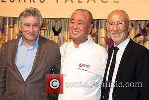 Robert Deniro, Nobu Matsuhisa and Meir Teper