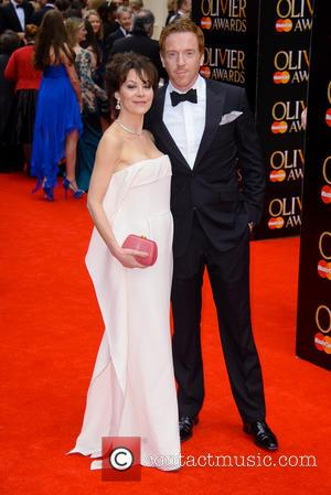 Helen McCrory and Damien Lewis - The Olivier Awards held at the Royal Opera House - Arrivals - London, United...