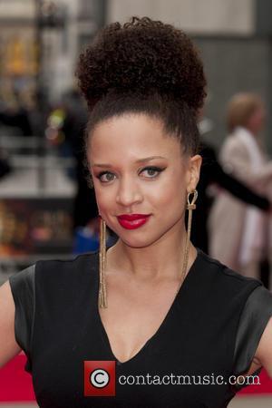 Natalie Gumede - The Olivier Awards held at the Royal Opera House - Arrivals - London, United Kingdom - Sunday...