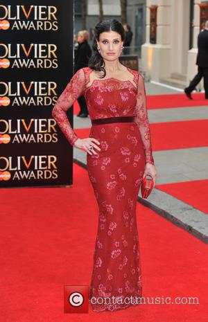 Idina Menzel - The Olivier Awards held at the Royal Opera House - Arrivals. - London, United Kingdom - Sunday...