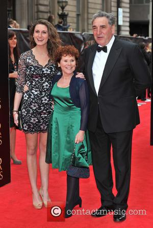 Imelda Staunton and guests - The Olivier Awards held at the Royal Opera House - Arrivals. - London, United Kingdom...