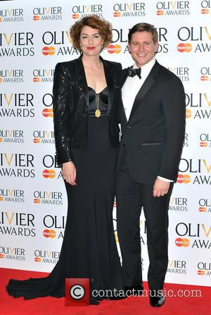 Allen Leech and Anna Chancellor - The Olivier Awards held at the Royal Opera House - Pressroom - London, United...