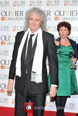 Brian May and Imelda Staunton
