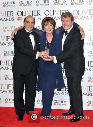 David Suchet, Gillian Lynne and Michael Crawford