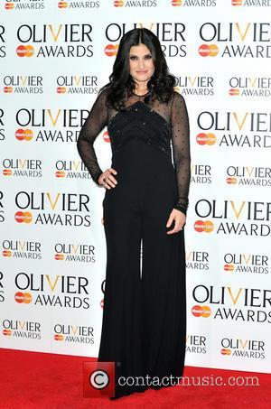 Idina Menzel - The Olivier Awards held at the Royal Opera House - Pressroom - London, United Kingdom - Sunday...