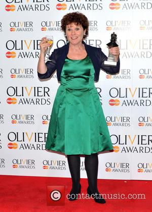 Imelda Staunton - The Olivier Awards held at the Royal Opera House - Pressroom - London, United Kingdom - Sunday...