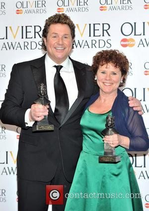 Michael Ball and Imelda Staunton - The Olivier Awards held at the Royal Opera House - Pressroom - London, United...