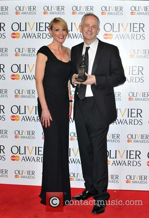 Suranne Jones and Dominic Cooke - The Olivier Awards held at the Royal Opera House - Pressroom - London, United...