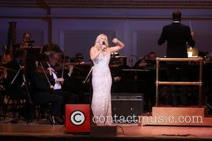 Megan Hilty - The New York Pops 30th Birthday Gala Concert held at Carnegie Hall. - New York, NY, United...