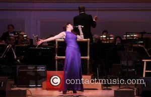 Stephanie J. Block - The New York Pops 30th Birthday Gala Concert held at Carnegie Hall. - New York, NY,...