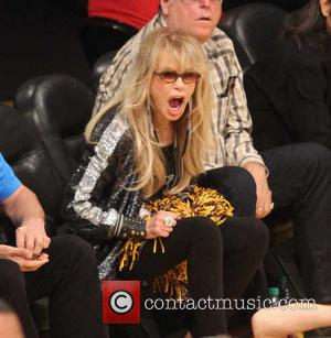 Dyan Cannon - Celebrities watch the Los Angeles Lakers play the San Antonio Spurs during the 2013 NBA Playoffs at...
