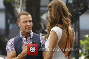 Joey Lawrence and Maria Menounos