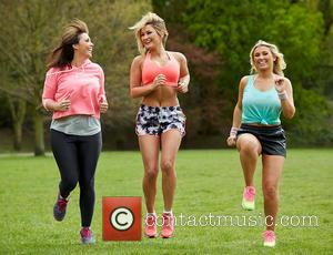 Billie Faiers, Libby Low and Sam Faiers
