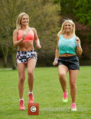 Billie Faiers and Sam Faiers