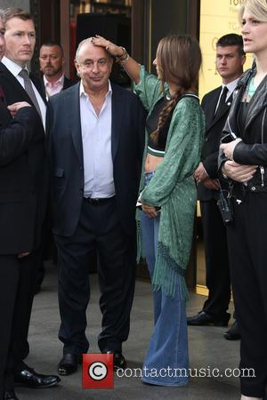 Philip Green, Chloe Green and Kate Moss