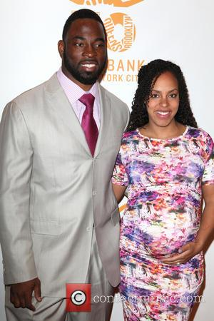 Justin Tuck and Lauran Tuck