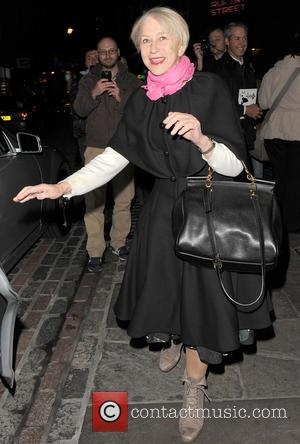 Dame Helen Mirren Leaves Theatre To Scold Noisy Street Band