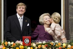 Queen Beatrix, King Willem Alexander and Queen Maxima
