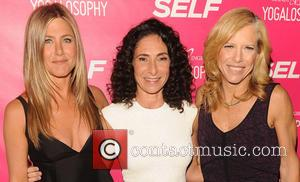 Jennifer Aniston, Mandy Ingber and Lucy Danziger