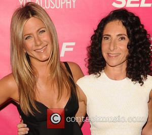 Jennifer Aniston and Mandy Ingber