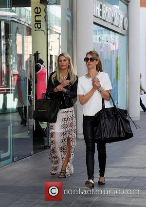 Alex Gerrard and Alex Curran - Alex Gerrard 'The New Face of Lipsy' at a photocall at Lipsy in Liverpool...