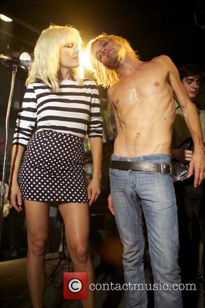 Malin Akerman and Taylor Hawkins