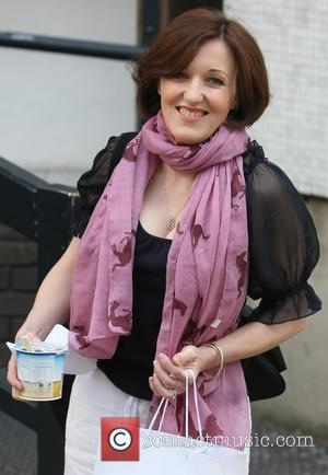 Kacey Ainsworth - Celebrities outside the ITV Studios - London, United Kingdom - Tuesday 30th April 2013