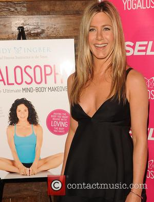 Jennifer Aniston, Yogalosophy Book Launch